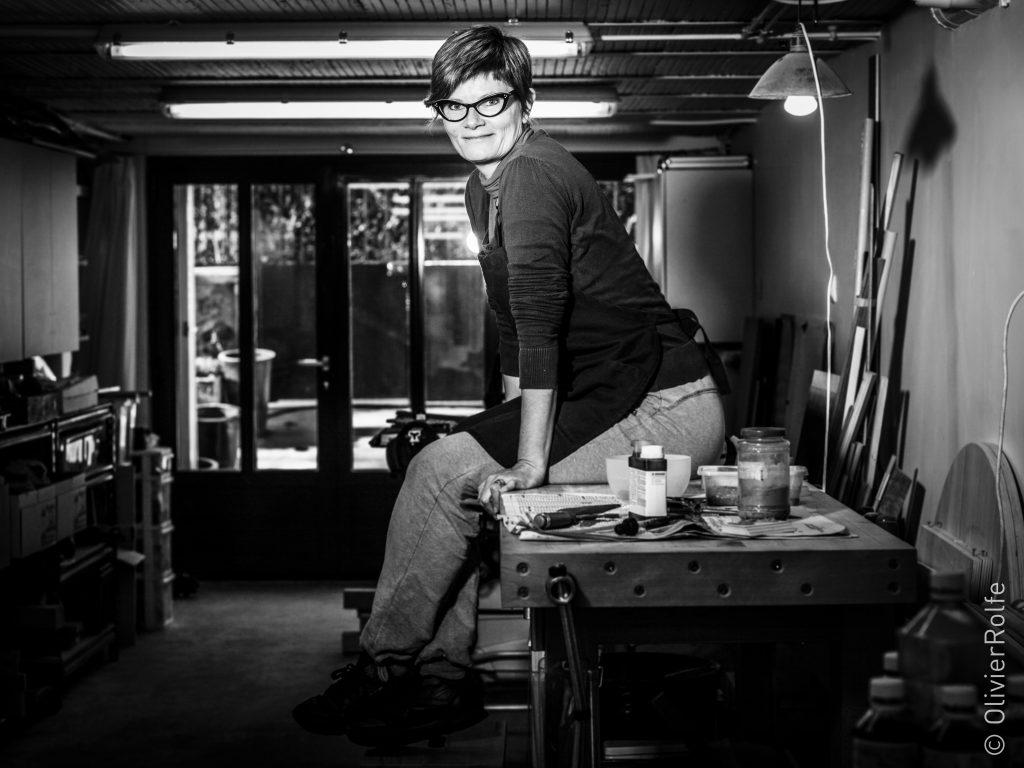 portrait Atelier de Sarah par Olivier Rolfe