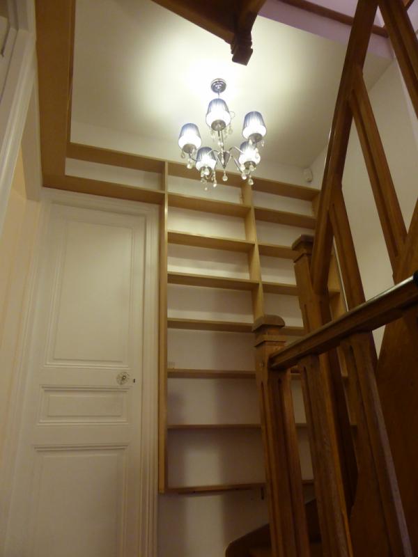 Biblioth Que D 39 Escalier I Faible Profondeur Atelier De Sarah