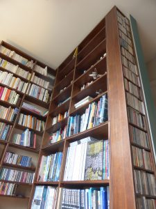 Bespoke-book-shelves-with-CD-rack
