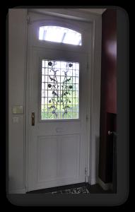 interior of door